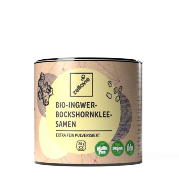 Zellavie® Bio-Ingwer Bockshornklee Pulver