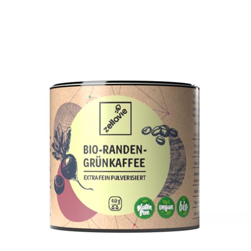 Zellavie® Randen-Grünkaffee Pulver
